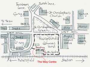 The Wey Centre Map